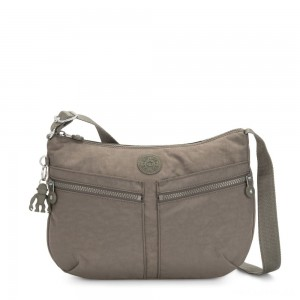 Kipling IZELLAH Medium Across Body Shoulder Bag Seagrass