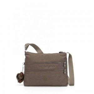 Kipling ALVAR Medium Shoulder Bag Across Body True Beige