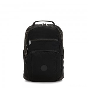 Kipling TROY Large Backpack with padded laptop compartment Rich Black