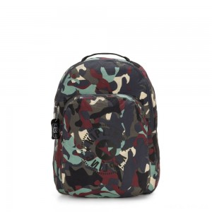 Kipling SEOUL PACKABLE Large Foldable Backpack Camo Large Light