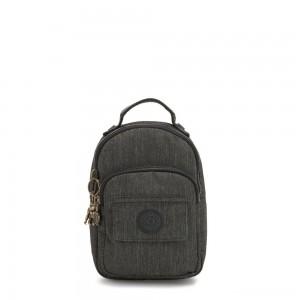 Kipling ALBER Small 3-in-1 convertible: bum bag, crossbody or backpack Black Indigo