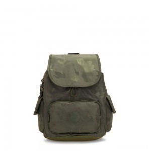 Kipling CITY PACK S Small Backpack Satin Camo