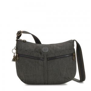 Kipling IZELLAH Medium Across Body Shoulder Bag Black Indigo