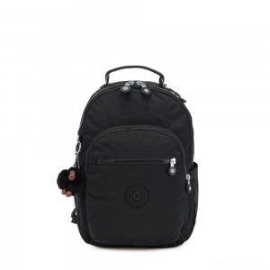 Kipling SEOUL GO S Small Backpack True Black