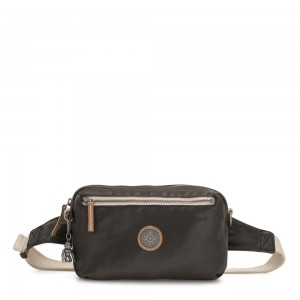Kipling HALIMA 2-in-1 Convertible Crossbody and Bumbag Delicate Black