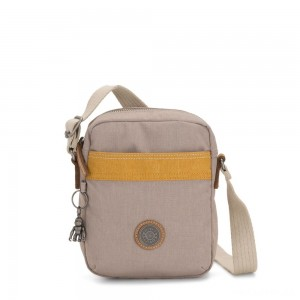 Kipling HISA Small Crossbody bag with front magneic pocket Bold Fungi Block