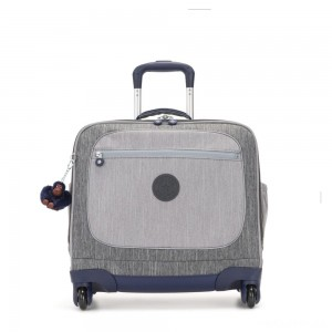 Kipling MANARY 4 Wheeled Bag with Laptop protection Ash Denim Bl