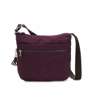 Kipling ARTO Shoulder Bag Across Body Dark Plum