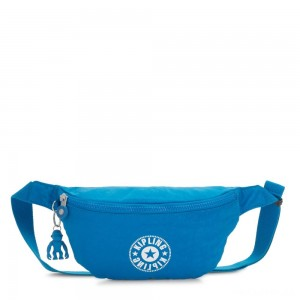Kipling FRESH Medium Bumbag Methyl Blue Nc