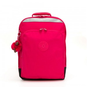 Kipling COLLEGE UP Large Backpack With Laptop Protection True Pink