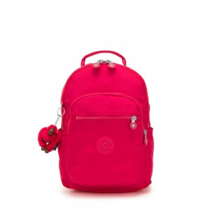 Kipling SEOUL GO S Small Backpack True Pink