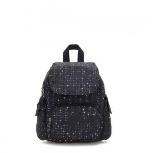Kipling CITY PACK MINI City Pack Mini Backpack Tile Print