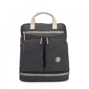 Kipling KOMORI M Medium backpack with Laptop protection Casual Grey