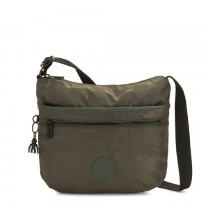 Kipling ARTO Cross Body Shoulder Bag Satin Camo