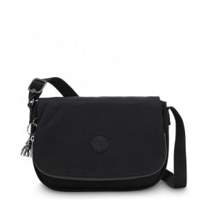 Kipling EARTHBEAT S Small Cross Body Shoulder Bag Rich Black