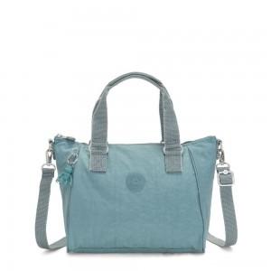 Kipling AMIEL Medium Handbag Aqua Frost