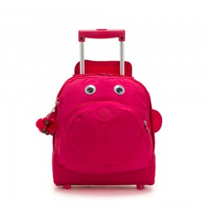 Kipling BIG WHEELY Wheeled School Bag True Pink