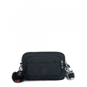 Kipling MULTIPLE Waist Bag Convertible to Shoulder Bag True Navy