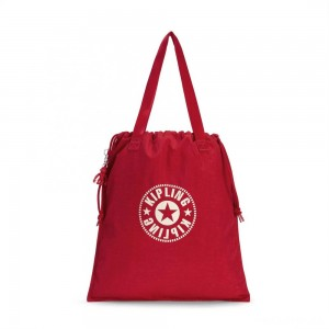 Kipling NEW HIPHURRAY Lightweight Tote Bag Lively Red