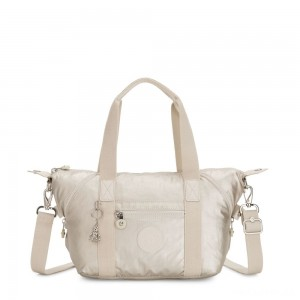Kipling ART MINI Handbag Cloud Metal