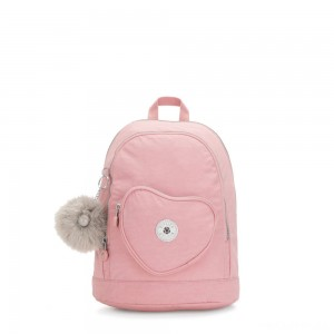 Kipling HEART BACKPACK Kids backpack Bridal Rose