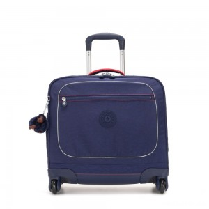 Kipling MANARY 4 Wheeled Bag with Laptop protection Polished Blue C