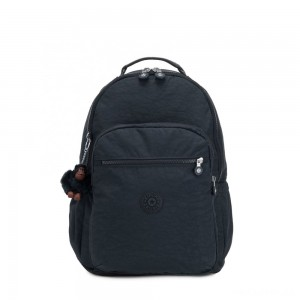 Kipling SEOUL GO Large Backpack with Laptop Protection True Navy