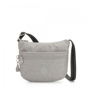 Kipling ARTO S Cross Body Shoulder Bag Chalk Grey