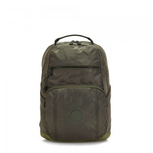 Kipling TROY Large Backpack with padded laptop compartment Satin Camo