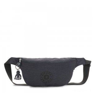 Kipling FRESH Medium Bumbag Night Grey Nc