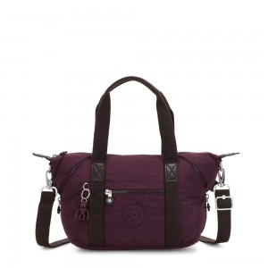 Kipling ART MINI Handbag Dark Plum