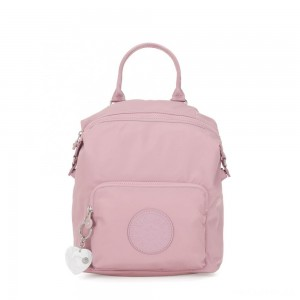 Kipling NALEB Small Backpack with tablet sleeve Faded Pink