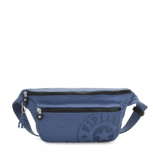Kipling YASEMINA XL Large Bumbag Convertible to Crossbody Bag Soulfull Blue