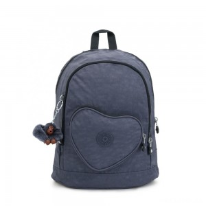 Kipling HEART BACKPACK Kids backpack True Jeans