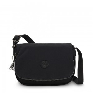 Kipling EARTHBEAT S Small Cross Body Shoulder Bag Rich Black