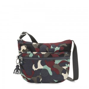 Kipling ARTO S Small Cross-Body Bag Camo Large