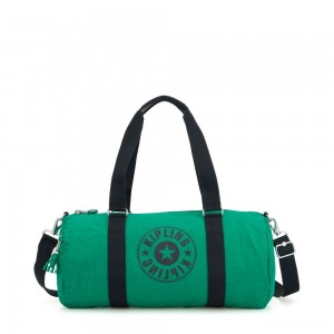 Kipling ONALO Multifunctional Duffle Bag Lively Green