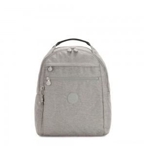 Kipling MICAH Medium Backpack Chalk Grey