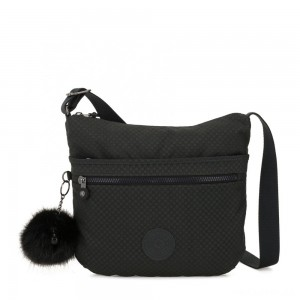 Kipling ARTO Shoulder Bag Across Body Powder Black