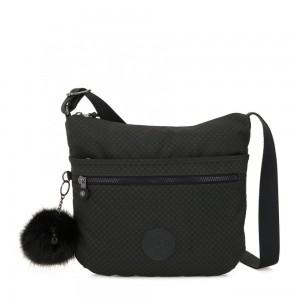 Kipling ARTO Shoulder Bag Across Body Powder Black