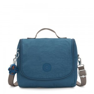 Kipling NEW KICHIROU Lunchbox Mystic Blue