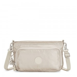 Kipling MYRTE Small 2 in 1 Crossbody and Pouch Cloud Metal