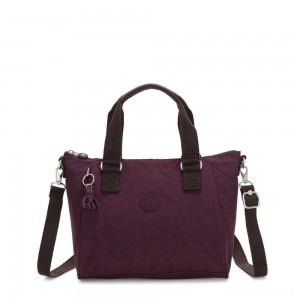 Kipling AMIEL Medium Handbag Dark Plum