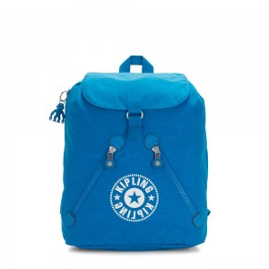 Kipling FUNDAMENTAL NC Backpack with 2 Zipped Pockets Methyl Blue Nc