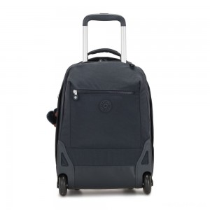 Kipling SOOBIN LIGHT Large wheeled backpack with laptop protection True Navy
