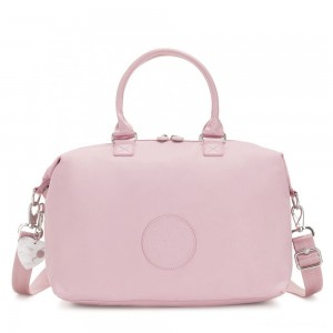 Kipling TIRAM Medium Shoulderbag with tablet protection Faded Pink