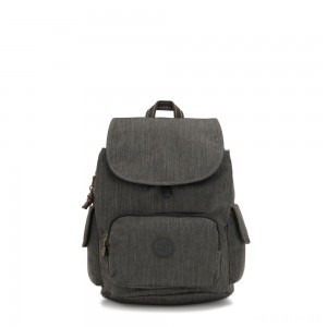 Kipling CITY PACK S Small Backpack Black Indigo