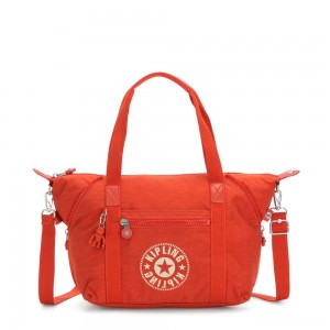 Kipling ART NC Lightweight Tote Bag Funky Orange Nc