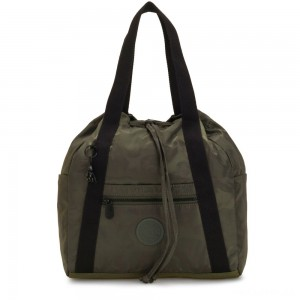 Kipling ART BACKPACK S Small Backpack (drawstring) Satin Camo