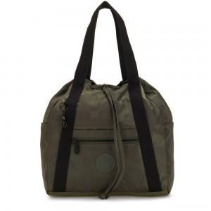 Kipling ART BACKPACK S Small Backpack (drawstring) Satin Camo